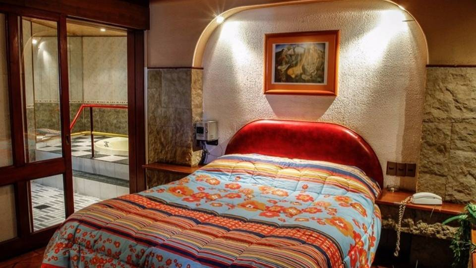 habitación del motel niagara