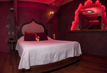 habitación del motel mosqueto